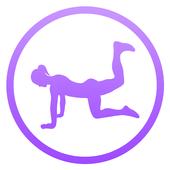 تمارين أرداف يومية - روتينيات اللياقة البدنية أيقونة