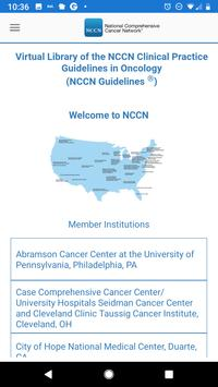 NCCN Guidelines® poster