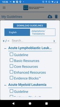 NCCN Guidelines® screenshot 2