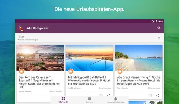 Urlaubspiraten Top Reise Deals スクリーンショット 10