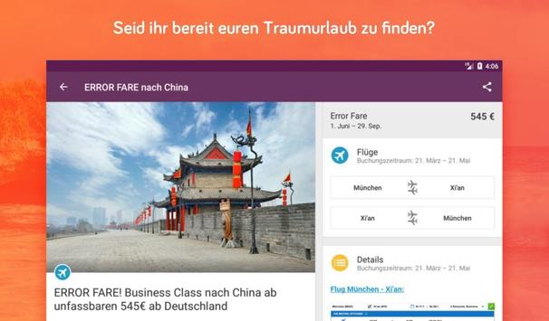 Urlaubspiraten Top Reise Deals スクリーンショット 13