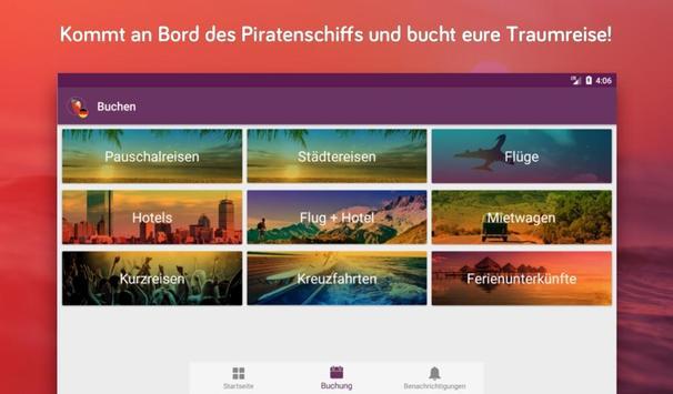 Urlaubspiraten Top Reise Deals スクリーンショット 14