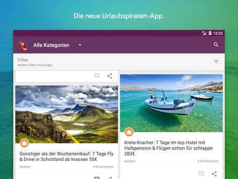 Urlaubspiraten Top Reise Deals スクリーンショット 5
