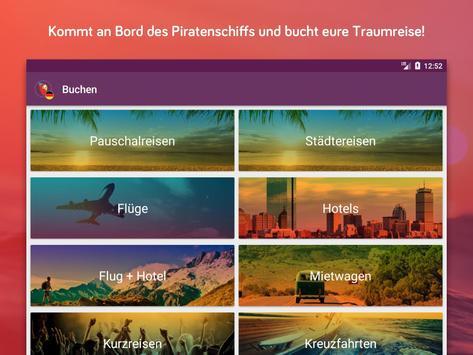 Urlaubspiraten Top Reise Deals スクリーンショット 9