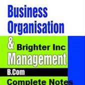 B.Com Business Organisation _ Management icon
