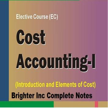 B.Com Cost Accounting poster