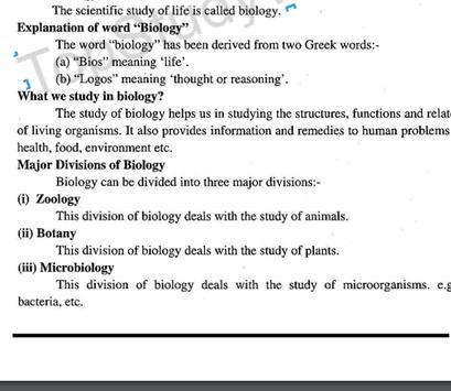 9th Class Biology Easy Notes screenshot 2