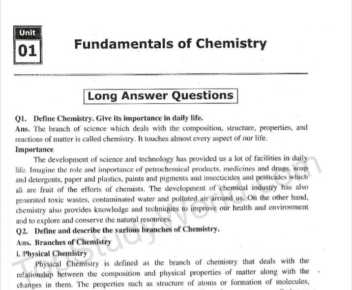 9th Class Chemistry (Complete Notes) 2019 for Android - APK
