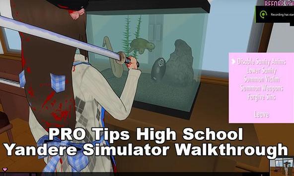 High School Yandere Simulator Walkthrough:Tips screenshot 2