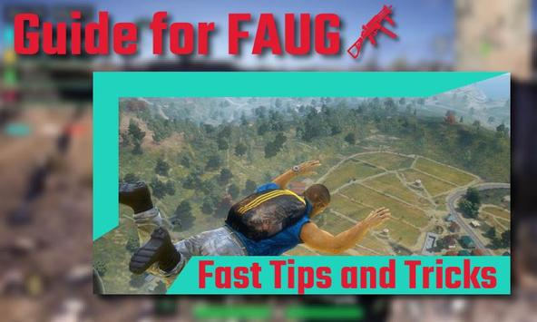 Best Tips and Guide for FAUG poster