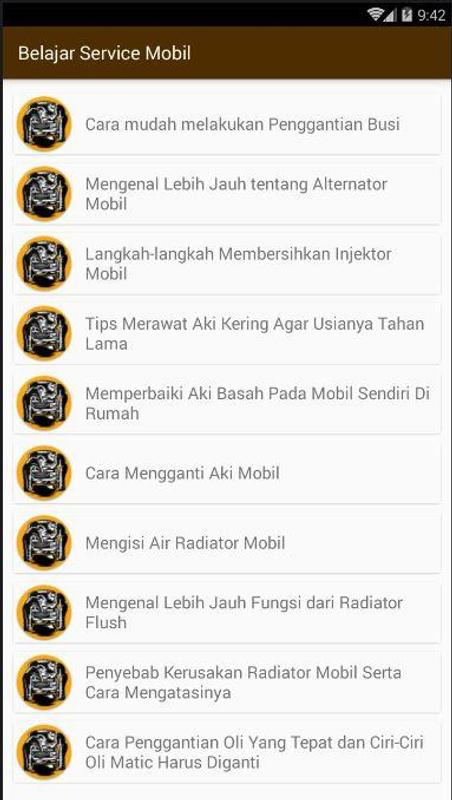 Tips Belajar Service Mobil For Android Apk Download