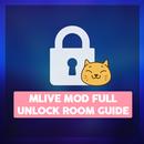 Mlive mod terbaru 2020 : Unlock all room tips APK Android