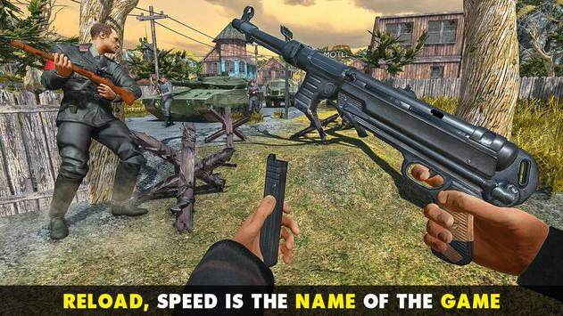 WW2 US Commando Strike Free Fire Survival Games screenshot 12
