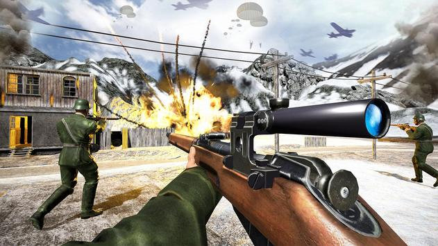 WW2 US Commando Strike Free Fire Survival Games screenshot 2