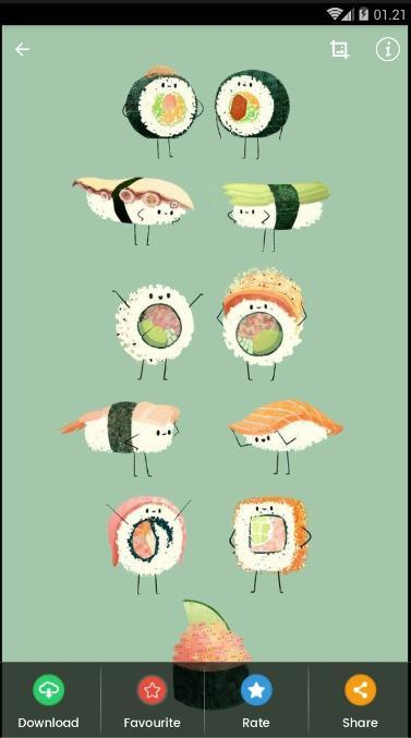 Cute Sushi Wallpaper For Android Apk Download