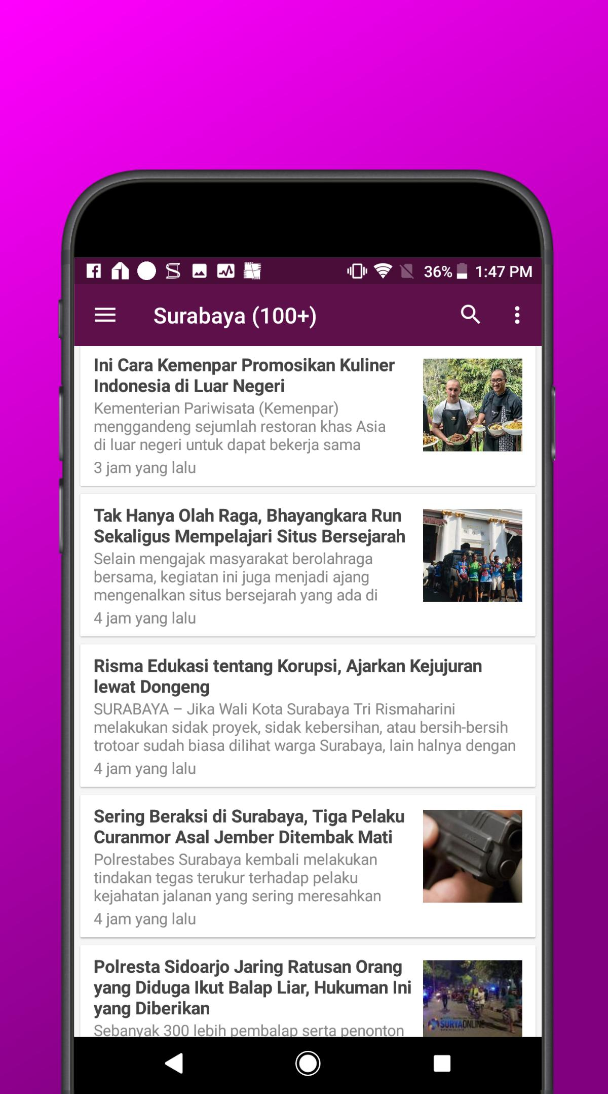 Berita Surabaya For Android Apk Download