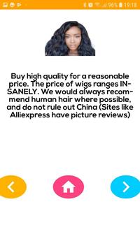 Afro Hair Tips screenshot 1