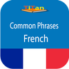 daily French phrases - learn French language icon