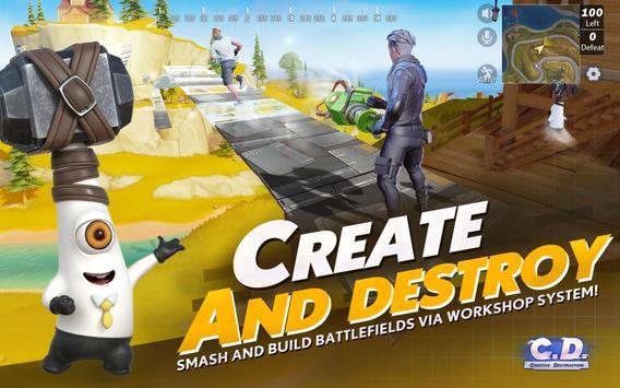 Creative Destruction captura de pantalla 10