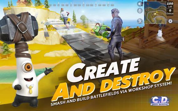 Creative Destruction स्क्रीनशॉट 16
