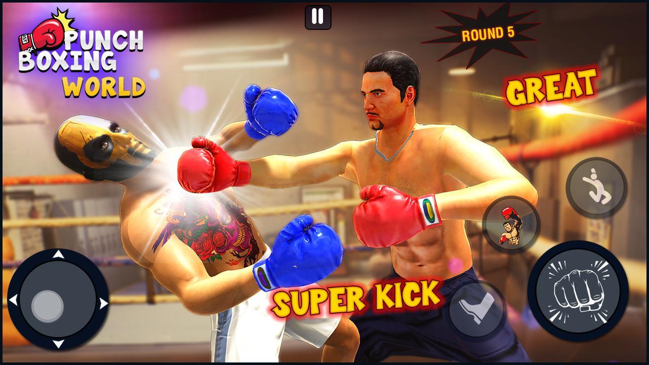 nhẫn trò chơi đấm bốc : trò chơi chiến đấu 3d cho Android - Tải về APK