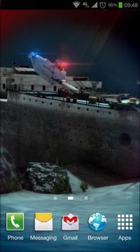 Titanic 3D Pro live wallpaper screenshot 4