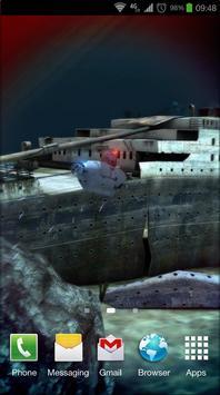 Titanic 3D Pro live wallpaper screenshot 6