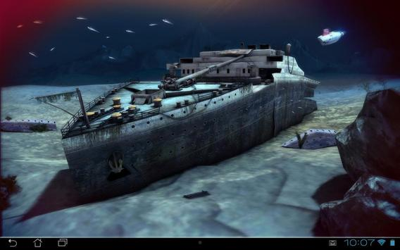 Titanic 3D Pro live wallpaper screenshot 8