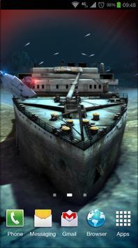 Titanic 3D Pro live wallpaper poster