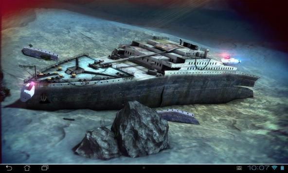 Titanic 3D Pro live wallpaper screenshot 13