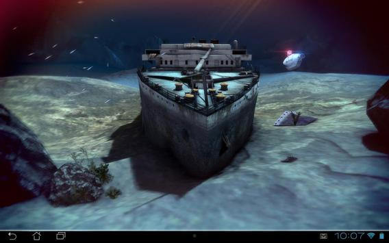 Titanic 3D Pro live wallpaper screenshot 11