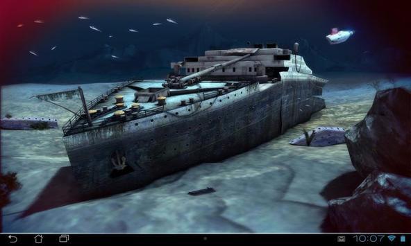 Titanic 3D Pro live wallpaper screenshot 12
