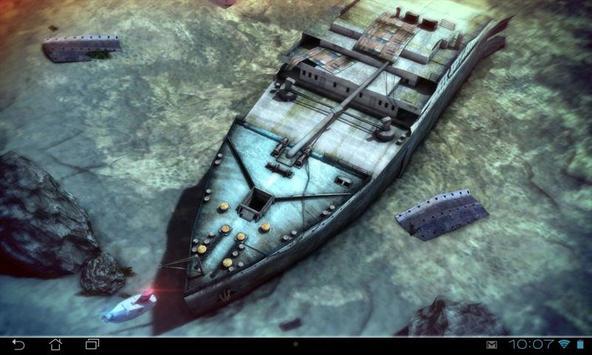 Titanic 3D Pro live wallpaper screenshot 14
