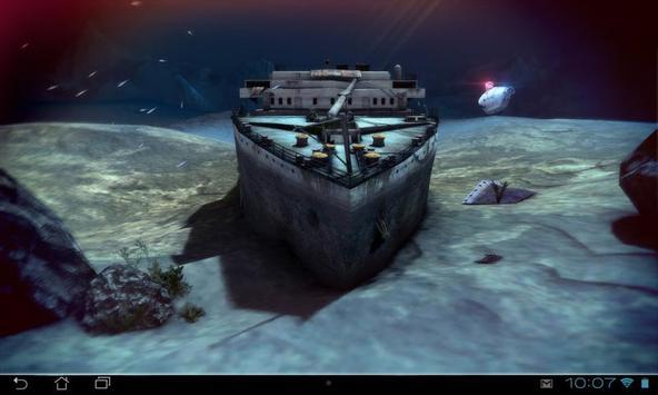 Titanic 3D Pro live wallpaper screenshot 15