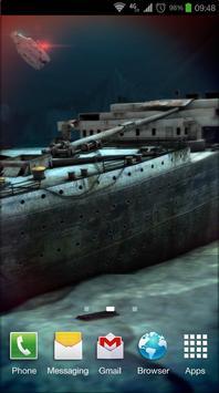 Titanic 3D Pro live wallpaper screenshot 1