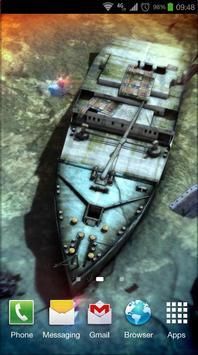 Titanic 3D Pro live wallpaper screenshot 2