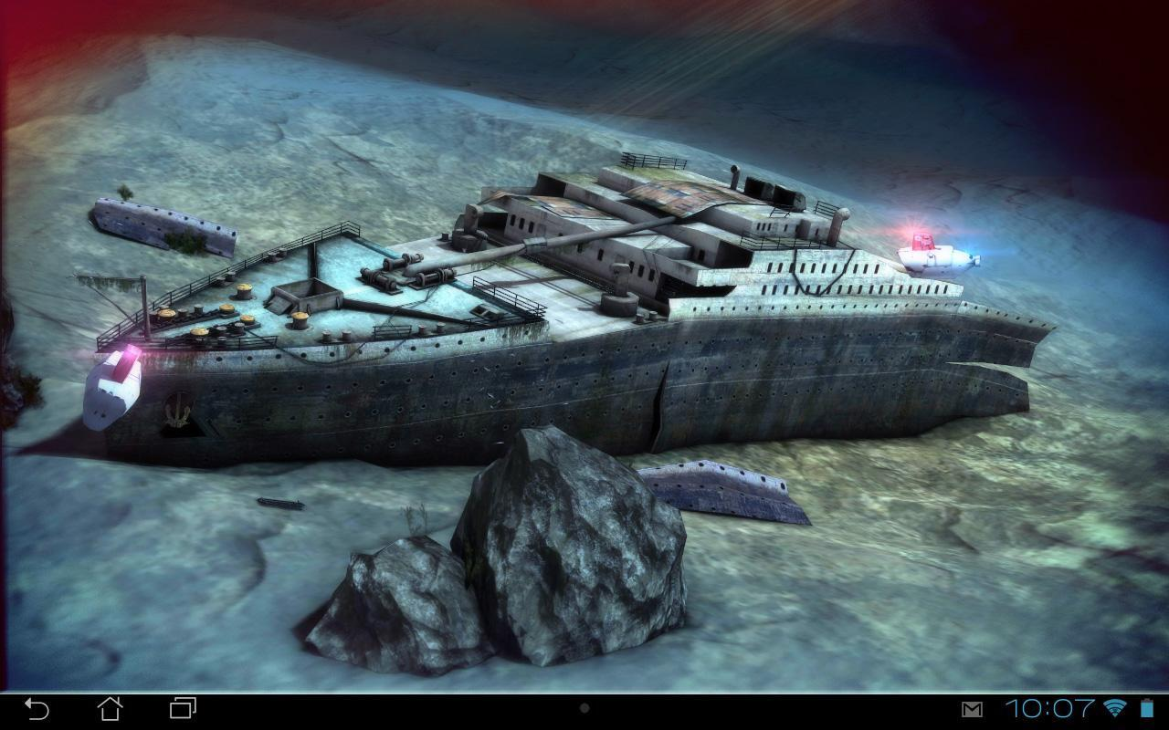 Titanic 3d Free Live Wallpaper For Android Apk Download
