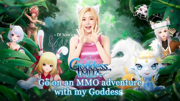 Goddess MUA poster