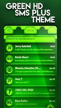 Nature Green HD SMS Plus Theme poster