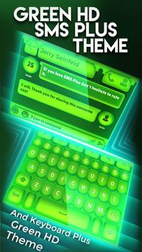Nature Green HD SMS Plus Theme screenshot 4