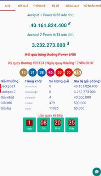 Kết quả xổ số Vietlott Power 6/55, Mega 6/45 poster