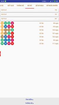 Kết quả xổ số Vietlott Power 6/55, Mega 6/45 screenshot 3
