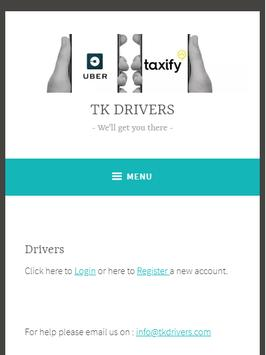 TK Drivers poster