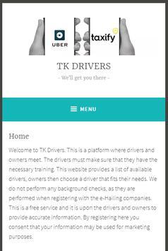 TK Drivers screenshot 1