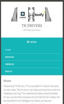 TK Drivers screenshot 2
