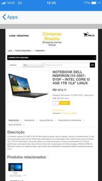 Compras Brasília screenshot 3