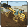 Excavator Simulator Backhoe Loader Dozer Game icon
