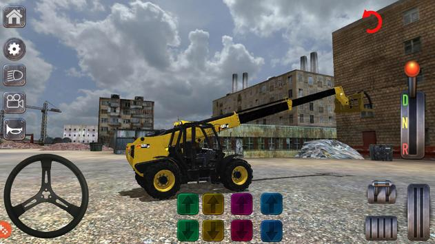 Excavator Simulator Backhoe Loader Dozer Game poster