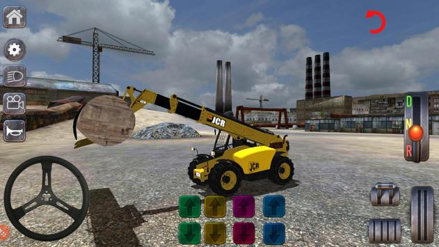 Excavator Simulator Backhoe Loader Dozer Game screenshot 10