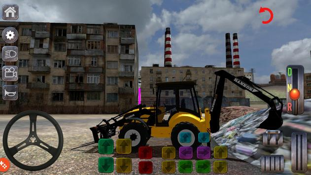 Excavator Simulator Backhoe Loader Dozer Game screenshot 12